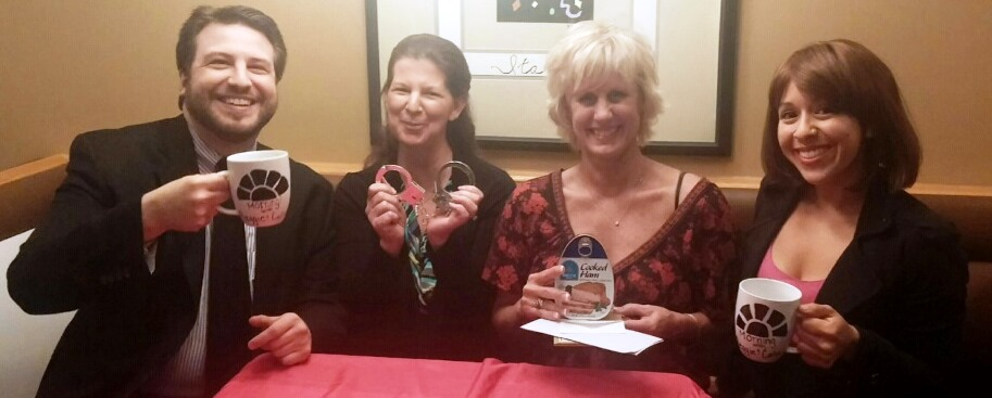 Rebecca Olsen won the Super Sleuth award and Jackie Trivino won the Hammy.