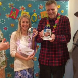 Bethany Brown wins the Super Sleuth and Terry Maurer wins the Hammy.