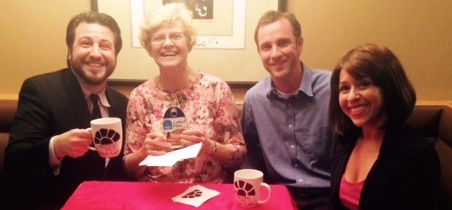Dorothy Scott wins the Hammy while  Brad Bernhardt won the Super Sleuth.