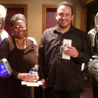 Patricia Tyler wins our Hammy while Tony Rivera took home the Super Sleuth award.