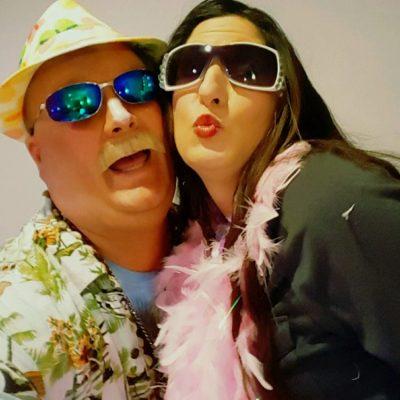 Tann-O and Movie Star Tilda Swindler